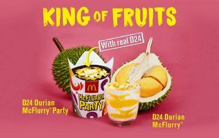 McDonald's Malaysia Launches Durian McFlurry