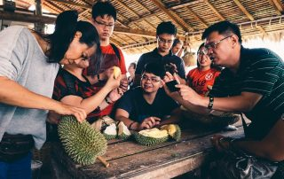 Chinese Hot on Durian Themed Tourism