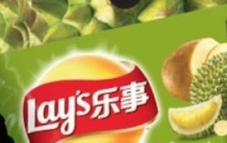 Lay's Introduces Durian Potato Chips in China